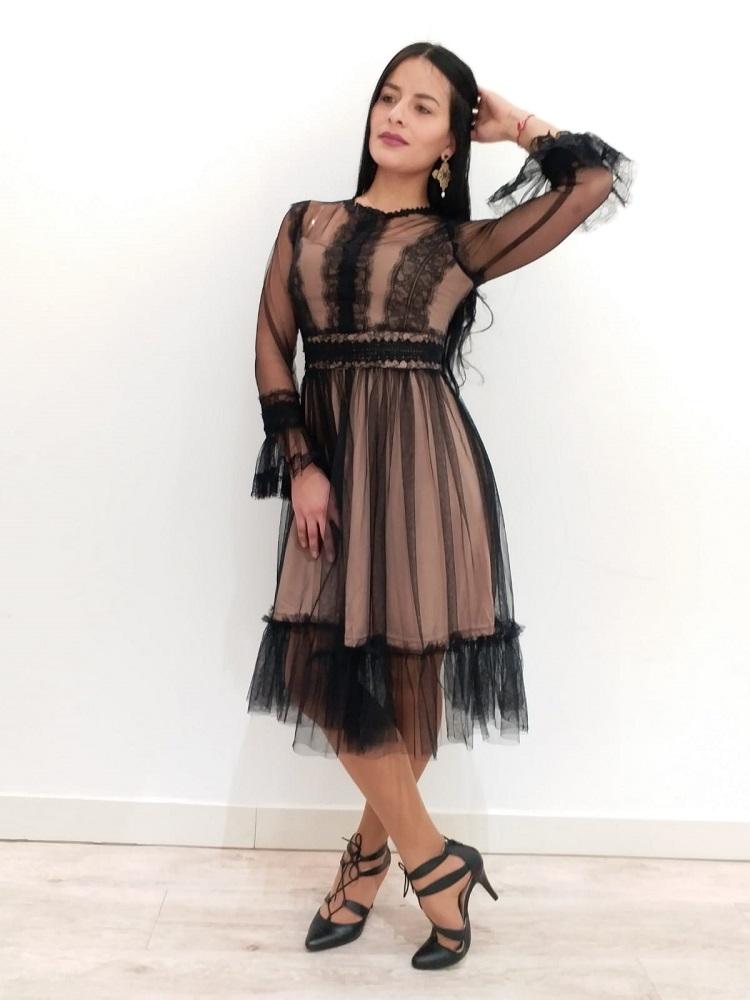 7d2c88564 Vestido Romántico Tul - Piccolandbrissa