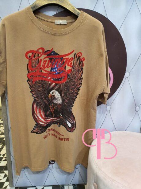 Camiseta águila Vintange
