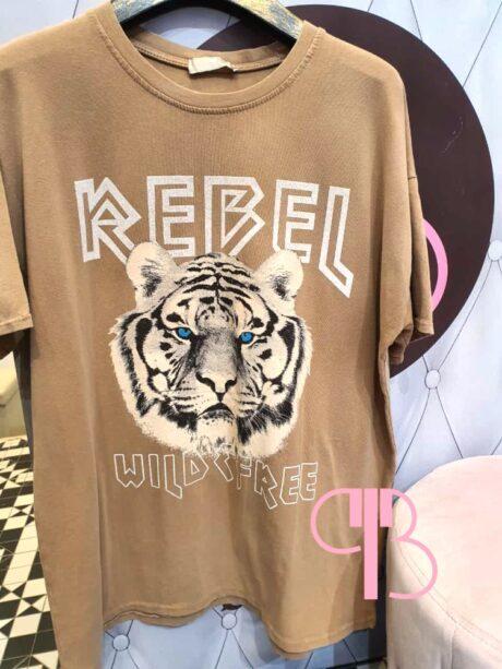 Camiseta Tigre Rebel